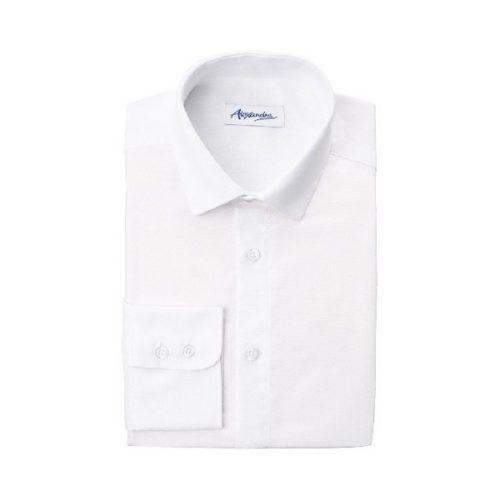 Womens Slim Fit Oxford LS Shirt