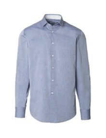 Mens chambray roll up sleeve shirt