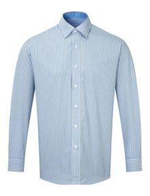 Alexandra men's long sleeve stripe shirt