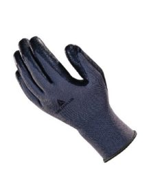Poly knit nitrile foam palm wet glove