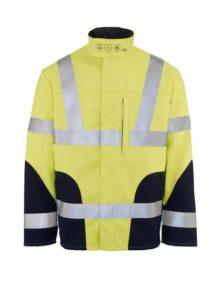 HB Hi-vis flame retardant softshell jacket