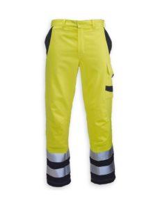 HB Hi-vis flame retardant Habetex Multisafe Pro and Arc trousers