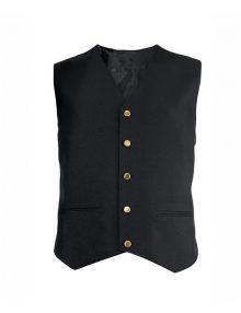 Alexandra men's gilt button waistcoat