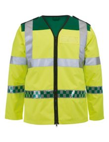 Alexandra ambulance long sleeved hi-vis waistcoat