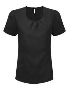 Alexandra women's round neck Crepe de Chine blouse