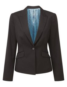 Alexandra Cadenza women's one button jacket