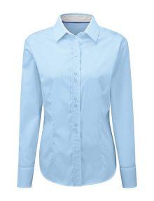 Alexandra women's long sleeve 100% cotton shirt