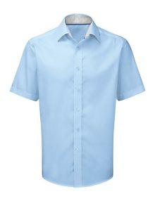 Alexandra men's short sleeve 100% cotton shirt