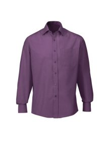 Alexandra men's woven colour cutaway collar shirt