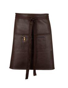 Alexandra Faux leather waist apron