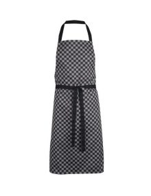 Alexandra Check waterproof bib apron