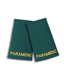 Alexandra paramedic epaulette sliders