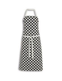 Alexandra big check chef's apron
