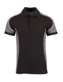 Alexandra Tungsten men's polo shirt