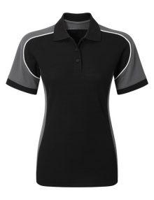 Alexandra Tungsten women's polo shirt